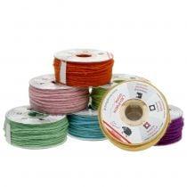 Wollschnur farbig 3mm 100m