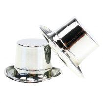 Zylinder mini Silber 12St