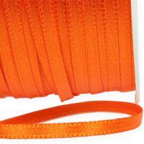 Geschenk- und Dekorationsband 3mm 50m Orange