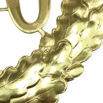 Jubiläumszahl 70 in Gold Ø40cm