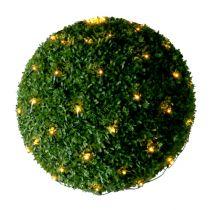 Lichternetz 80er für Buchsbaumkugel Ø ±50cm für Außen