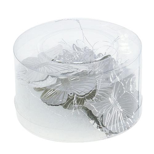 deko schmetterlinge zum h ngen silber 5cm 36st einkaufen in sterreich. Black Bedroom Furniture Sets. Home Design Ideas