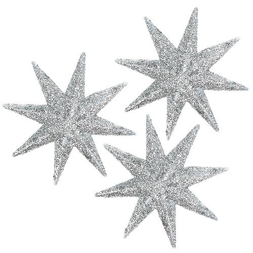 Deko Sterne Silber 5cm 20st Einkaufen In Sterreich