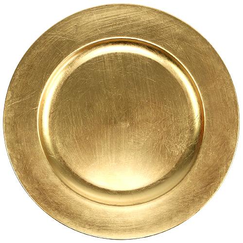 deko teller gold 28cm einkaufen in sterreich. Black Bedroom Furniture Sets. Home Design Ideas