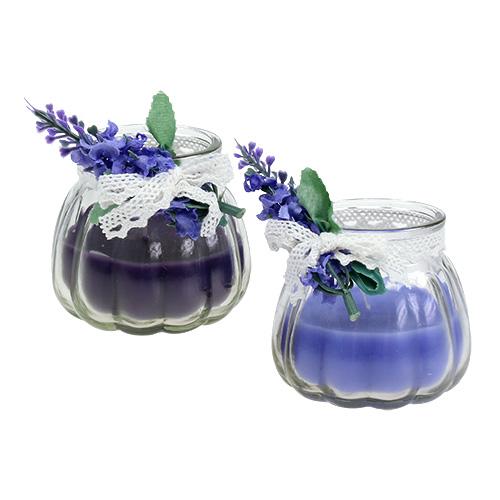 duftkerzen lavendel im glas 7cm h7cm 2st einkaufen in sterreich. Black Bedroom Furniture Sets. Home Design Ideas