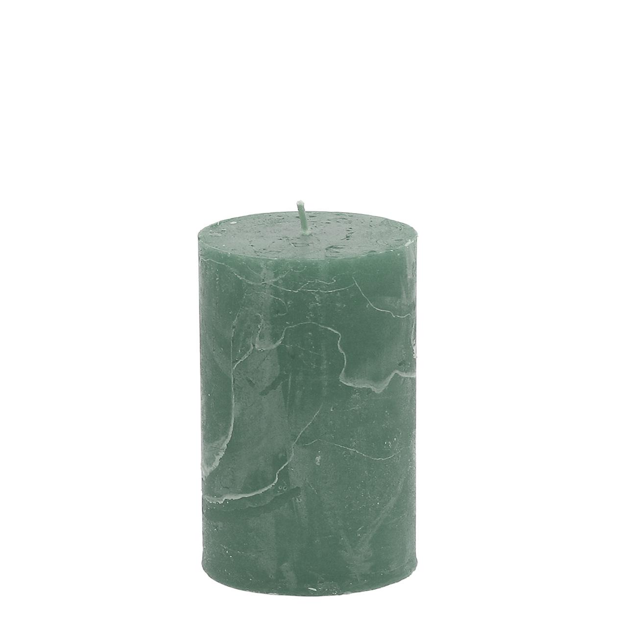 2er Set Kerzen//Stumpenkerzen *lila* marmoriert