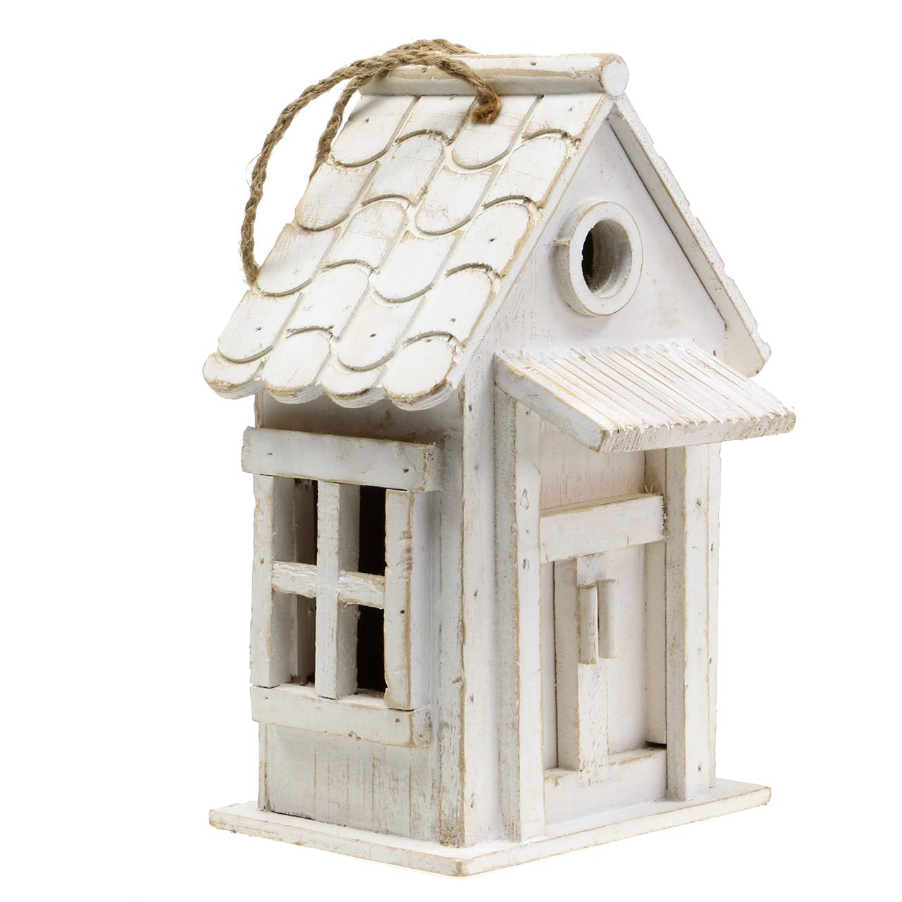 vogelhaus zum h ngen wei h25 5cm einkaufen in sterreich. Black Bedroom Furniture Sets. Home Design Ideas