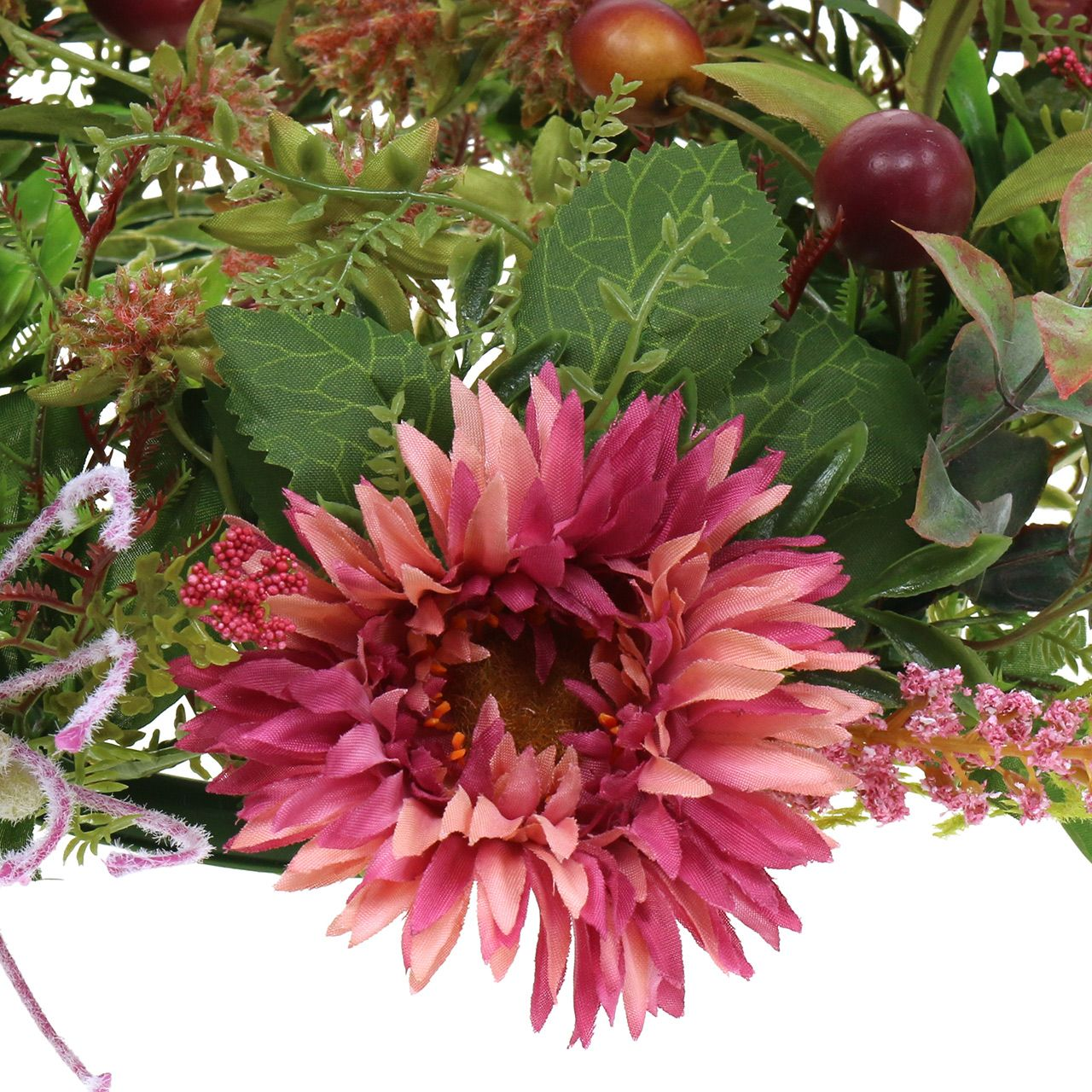 Herbstkranz Chrysantheme Lila Ø30cm