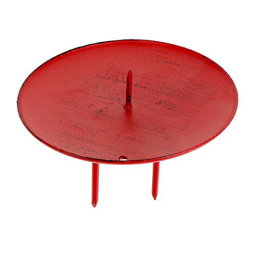 kerzenhalter zum stecken rot 9cm 4st einkaufen in sterreich. Black Bedroom Furniture Sets. Home Design Ideas