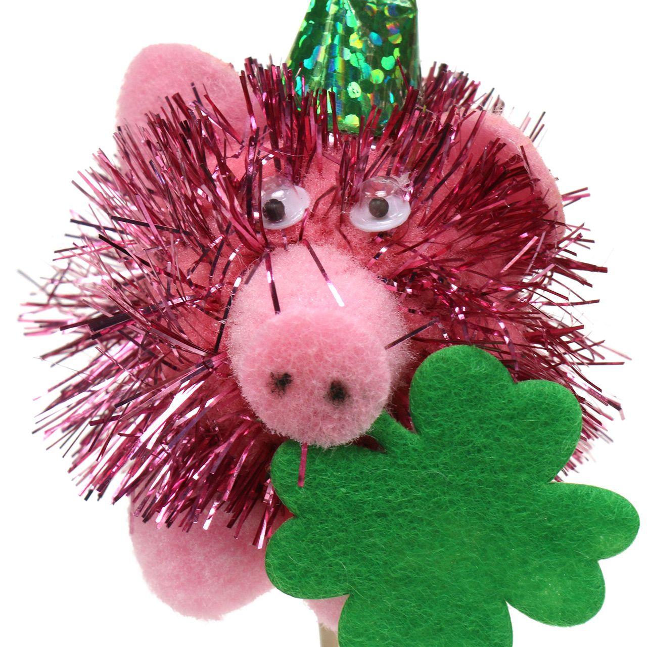 Dekostecker Glücksschwein 8St