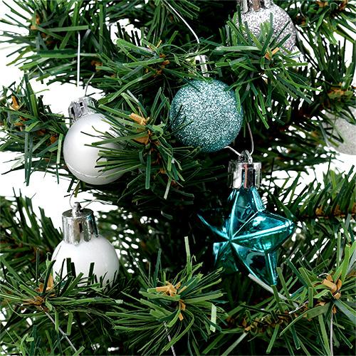 Weihnachtsdeko mini baum blau sort 40cm einkaufen in - Weihnachtsdeko blau ...