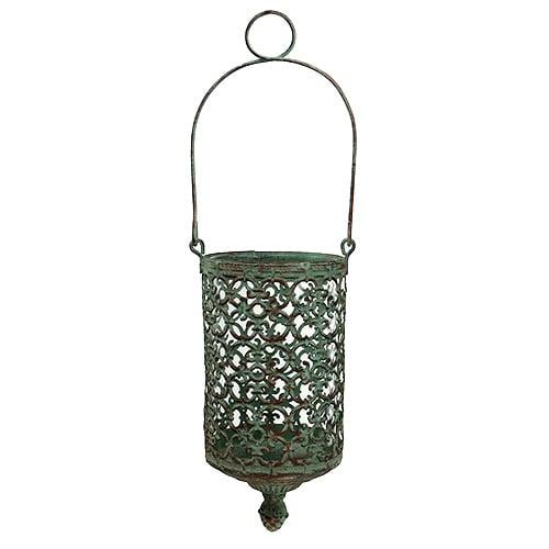 windlicht zum h ngen 9 5cm h20cm gr n 1st einkaufen in sterreich. Black Bedroom Furniture Sets. Home Design Ideas