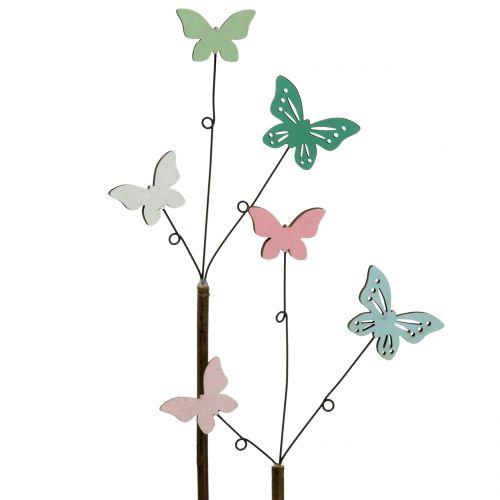 Dekostecker Schmetterling  H43cm 6St
