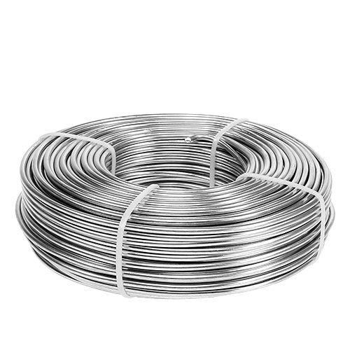 Aludraht 3mm 1kg Silber