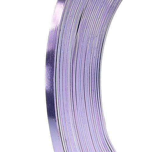 Aluminium Flachdraht Lavendel 5mm 10m einkaufen in Österreich