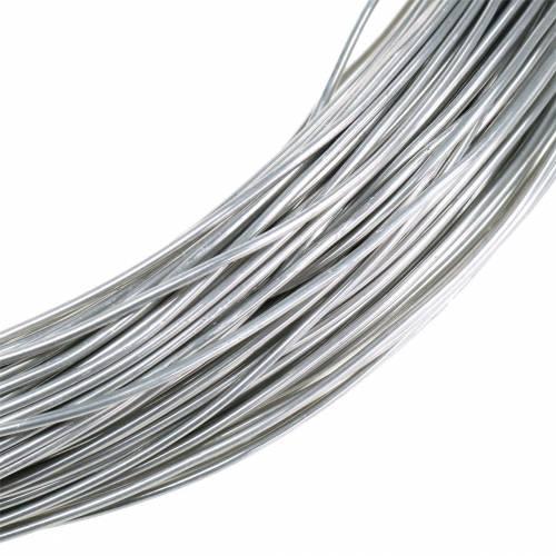 Aluminiumdraht Ø2mm Silber 1 kg