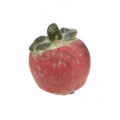 Apfel zum Dekorieren, Herbst, Deko-Frucht aus Beton, Tischdeko Ø13cm
