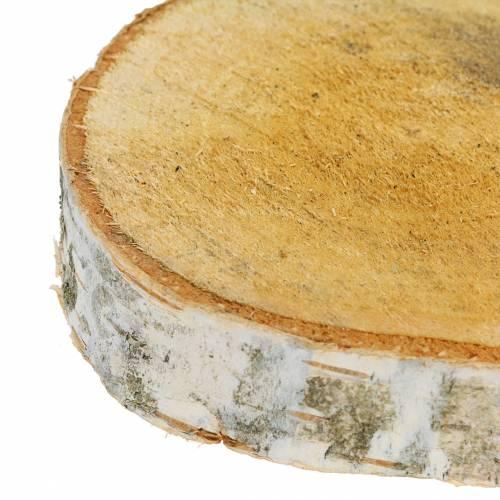 Birkenscheiben rund Ø11-13cm 11St