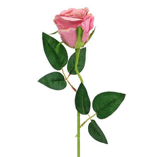 Deko Rose Ø6cm Altrosa L50cm 1St