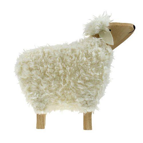 Deko Schaf Aus Holz Und Wolle Ca 32cm Einkaufen In Osterreich