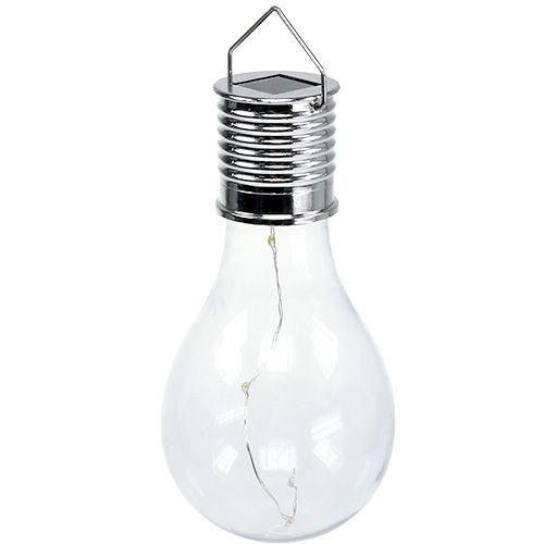 Deko-Solarbirne Warmweiß 15cm 4 LEDs