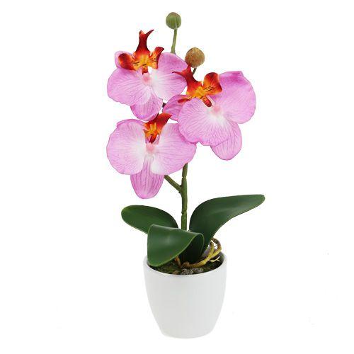 Deko Orchidee Im Topf Rosa H29cm Einkaufen In Osterreich