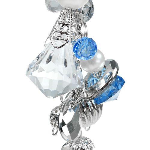 Deko-Hänger silber, blau L 23cm einkaufen in Österreich