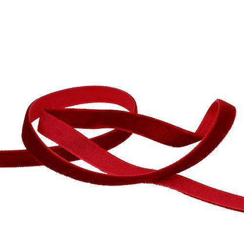 Dekoband, Gitterband, Geschenkband Juteband rot 5m lang