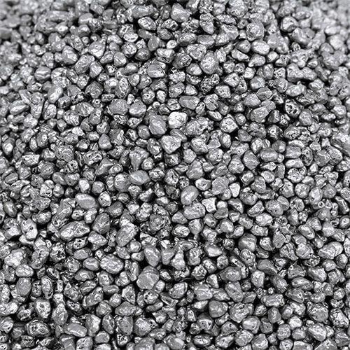 Dekogranulat Silber 2mm - 3mm 2kg