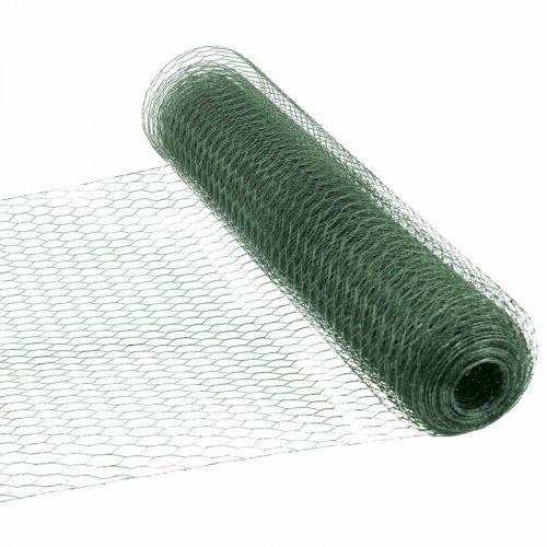 Sechseckgeflecht Grün Draht PVC-ummantelt Maschendraht 50cm×10m