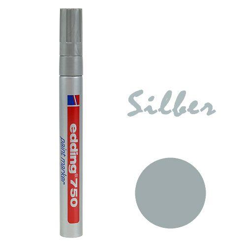 Edding® 750 Lackmarker Silber