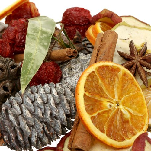 Weihnachtsmix Früchte und Zapfen 150g
