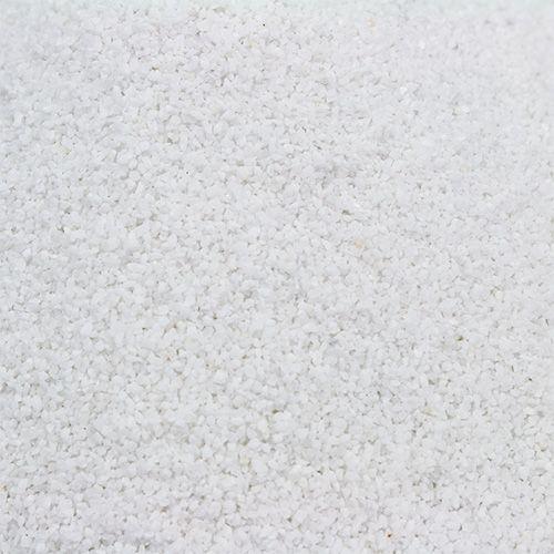 Farbsand 0,1mm - 0,5mm Weiß 2kg