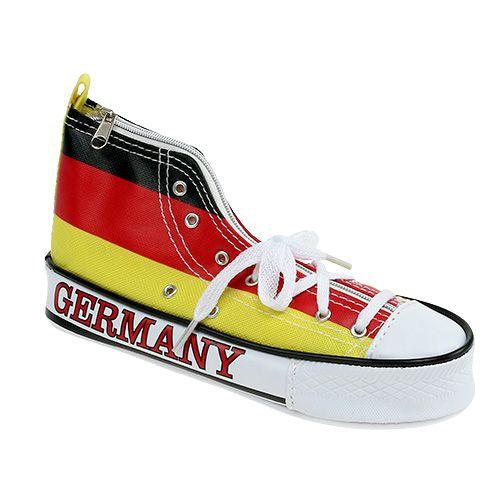 Federtasche als Schuh Deutschland 20cm