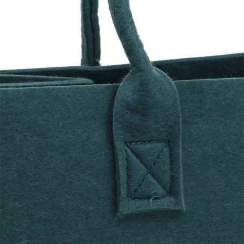 Filztasche Blaugrau 40cm x 20cm x 25cm