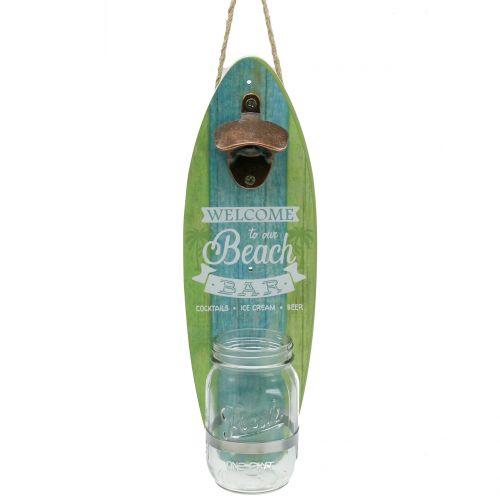 "Wandflaschenöffner ""Beach Bar"" 36cm x 11cm"