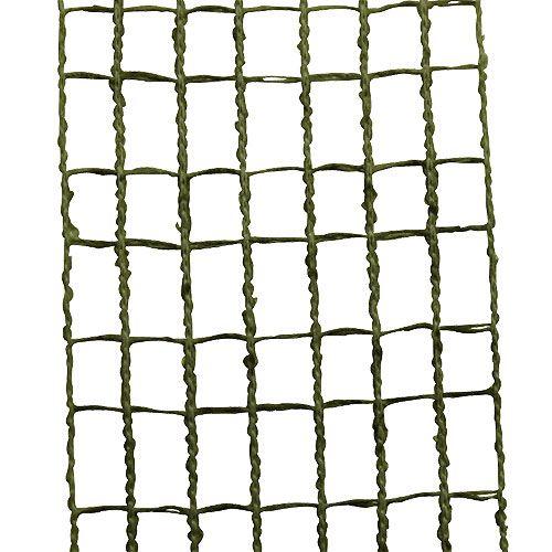 Gitterband 4,5cm x 10m Moosgrün