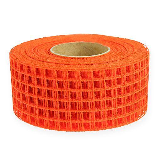 Gitterband 4,5cm x 10m Orange