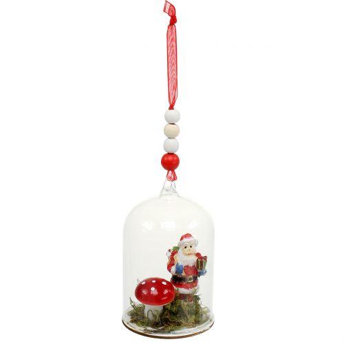 Weihnachtsdeko österreich.Weihnachtsdeko Glasglocke Zum Hängen 10cm