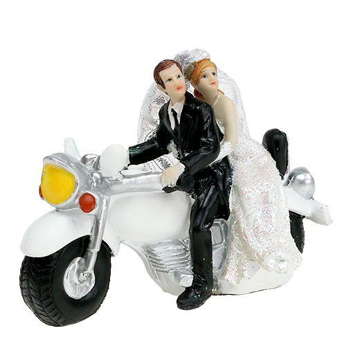 Hochzeitsfigur Brautpaar Auf Motorrad 9 Cm Einkaufen In Osterreich