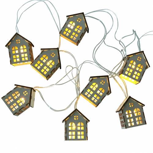 LED Lichterkette Häuser batteriebetrieben