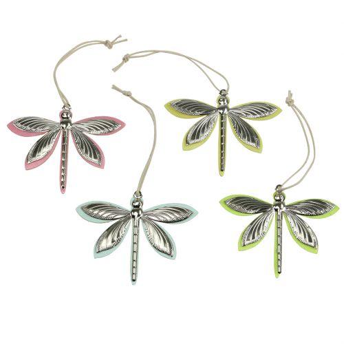 Libellen zum Hängen bunt sortiert 7cm x 5,5cm 28St