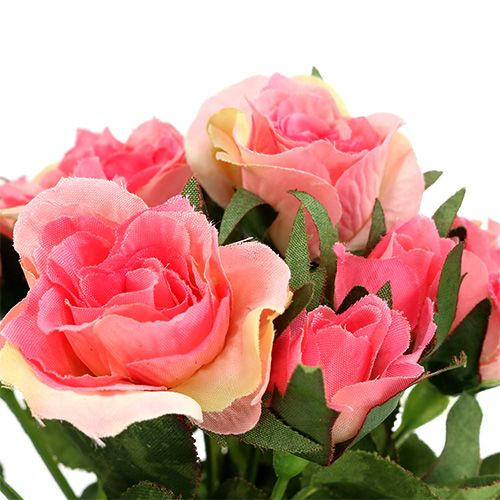 Rosenstrauß in Pink L26cm 3St