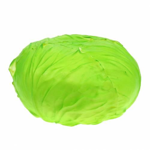Salatkopf künstlich Grün Ø18cm