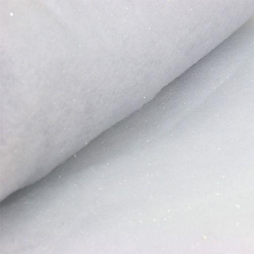 Schneedecke mit Glimmer 120x80cm
