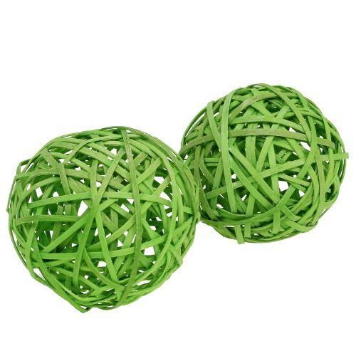 Spanball Hellgrün Ø8cm 4St