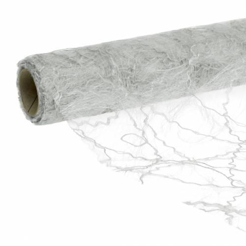 Tischband Tischläufer Silber 30cm 25m
