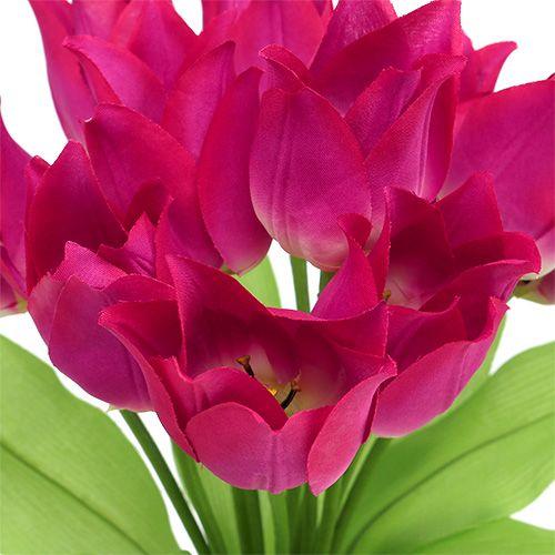 Tulpenbusch Pink L 30cm