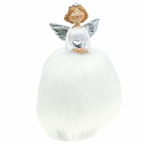 Weihnachtsdeko Engel Wackelfigur Schutzengel H18cm