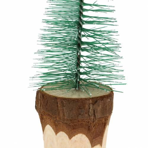 Weihnachtsdeko Tannenbaum beschneit 10cm 8St